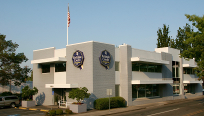 Photo of the Reliable Credit building in Milwaukie, OR